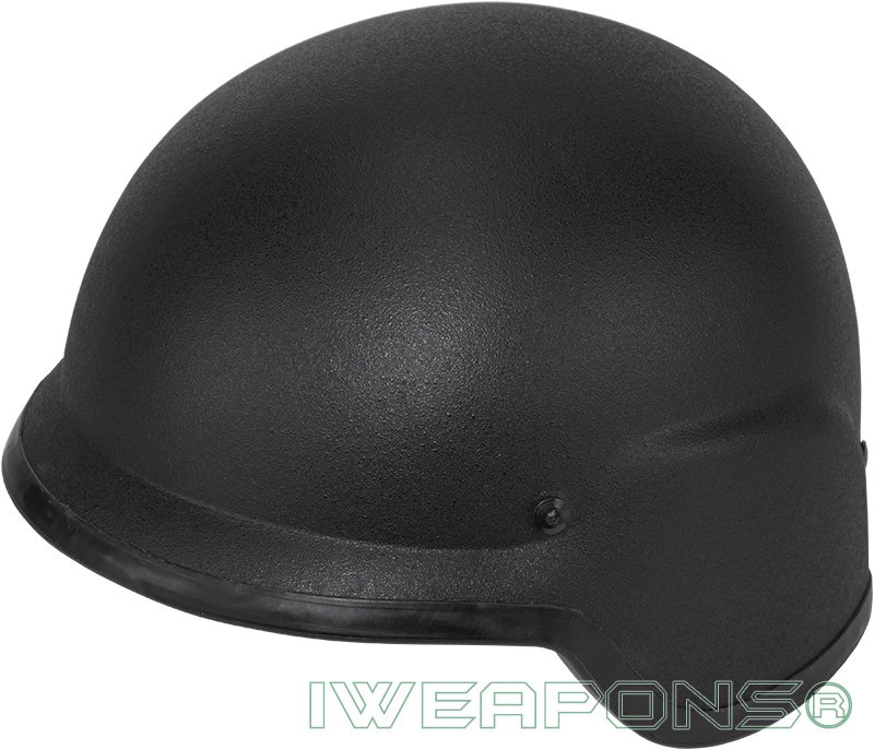 IWEAPONS® Ballistic Bulletproof Helmet - Black