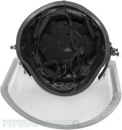 IWEAPONS® Ballistic Bulletproof Helmet with Visor IIIA