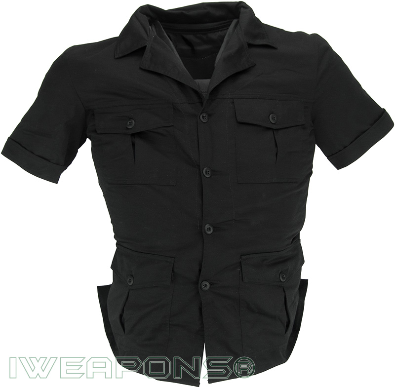 Iweapons bodyguard undercover bulletproof vest iiia 3a for Best shirt to wear under ballistic vest