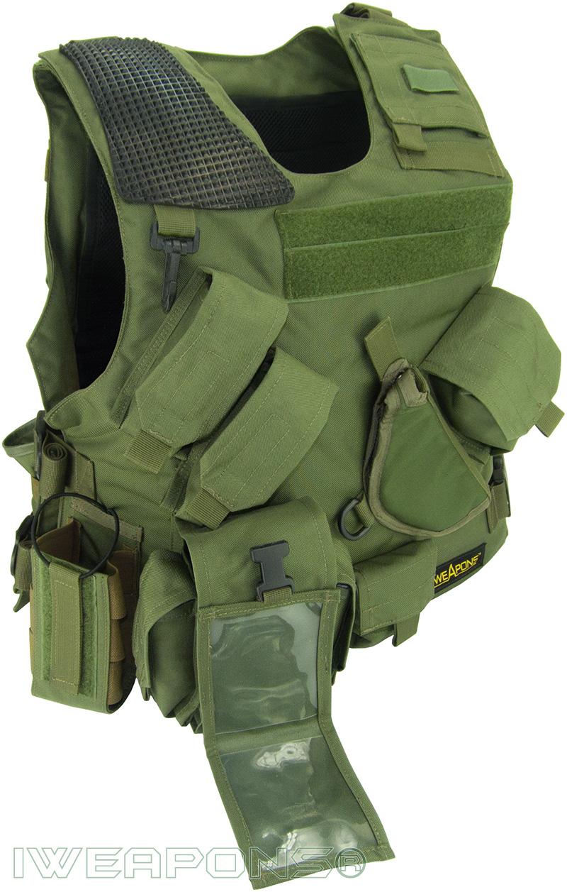 Iweapons 174 Combat Bulletproof Vest Iiia 3a Holster