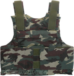 IWEAPONS® Commando Camouflage Bulletproof Vest