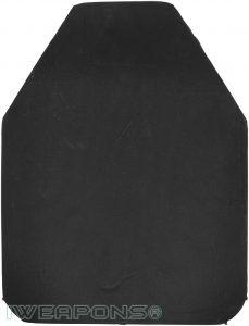 IWEAPONS® ESAPI Swimmer Cut Ceramic Armor Plate III