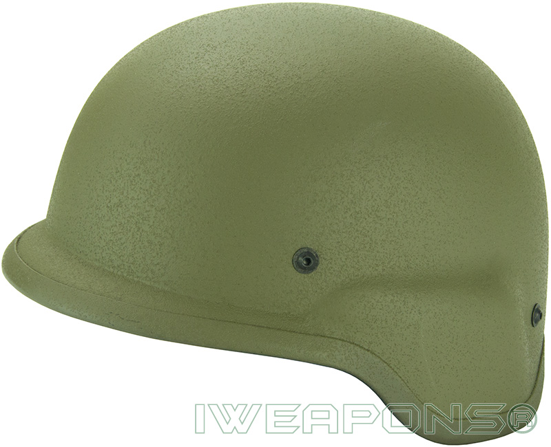 IWEAPONS® IDF Bulletproof Helmet - Green