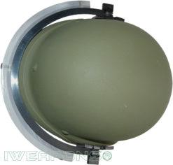 IWEAPONS® IDF Bulletproof Helmet with Ballistic Visor IIIA