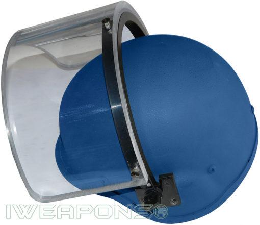 IWEAPONS® IDF Bulletproof Helmet with Ballistic Visor IIIA - Blue