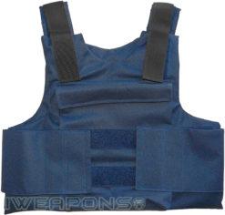 IWEAPONS® IDF External Bulletproof Vest – Blue