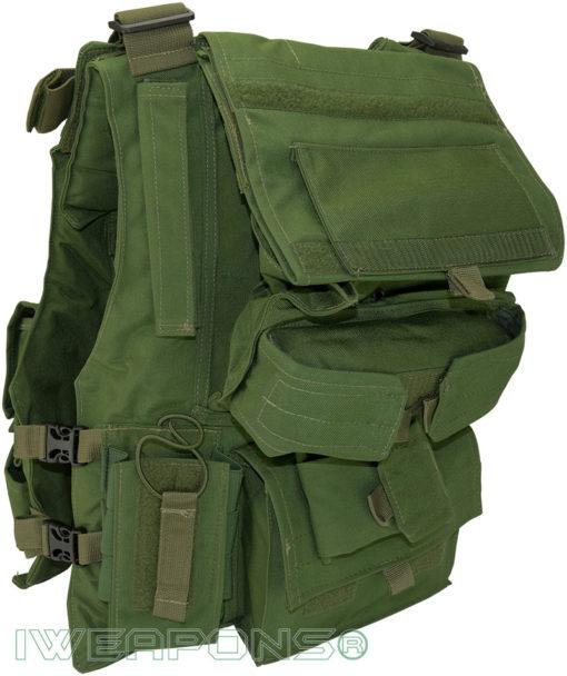 IWEAPONS® Israel Police Combat Bulletproof Vest Rear View
