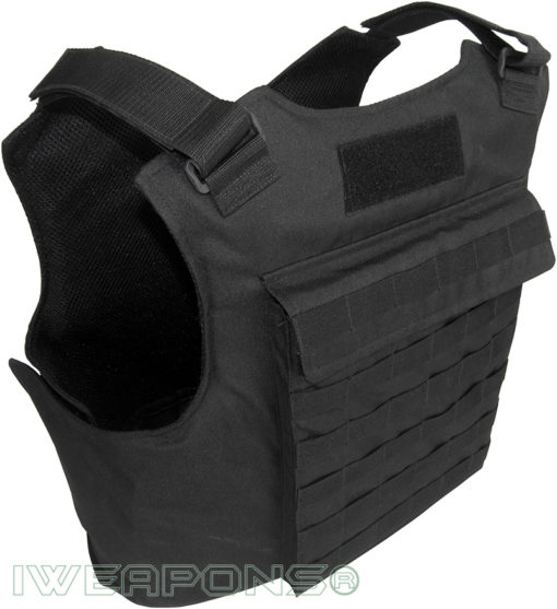 IWEAPONS® MOLLE External Bulletproof Vest with 25×30cm Pockets for Armor Plates