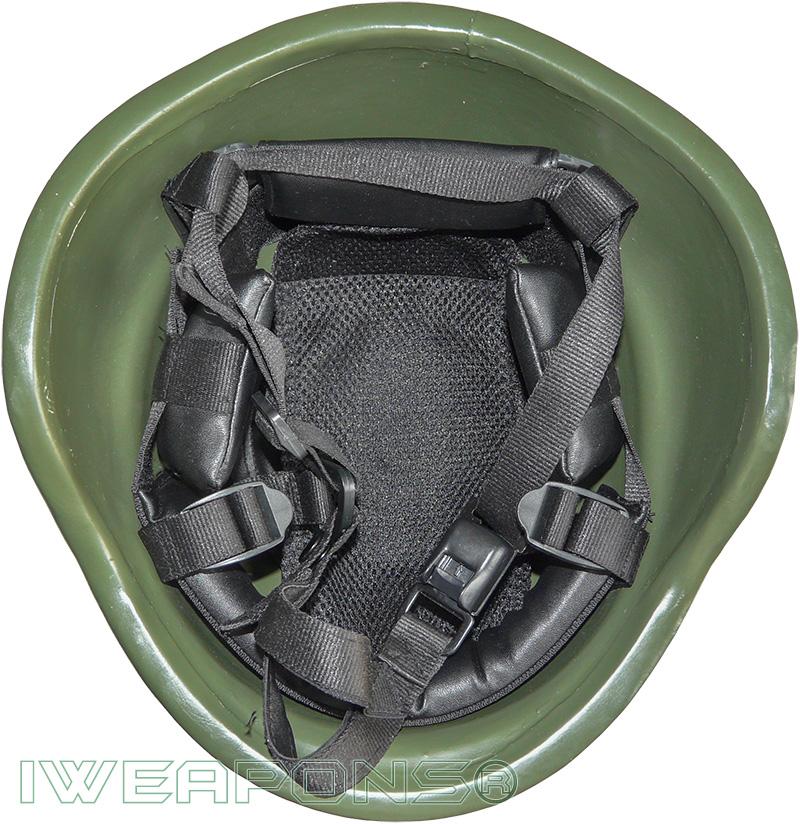 IWEAPONS® Police Ballistic Helmet - Green