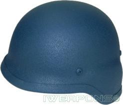 IWEAPONS® Steel Bulletproof Helmet - Blue