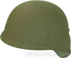 IWEAPONS® Steel Bulletproof Helmet - Green