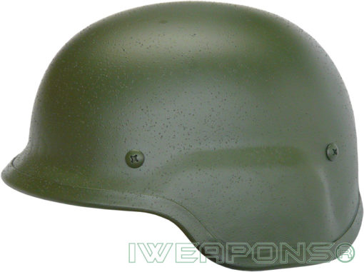 IWEAPONS® Steel Defense Bulletproof Helmet - Green