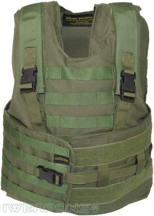 IWEAPONS® Zahal Hashmonai with MOLLE Level III Bulletproof Vest