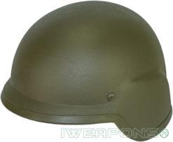 IWEAPONS® Ballistic Bulletproof Helmet - Green