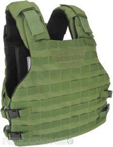 IWEAPONS® Commander MOLLE Bulletproof Vest Front View