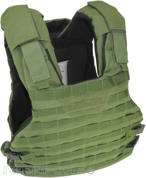 IWEAPONS® Commander MOLLE Bulletproof Vest Top View
