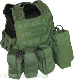 IWEAPONS® Commander MOLLE Bulletproof Vest with Assault Package