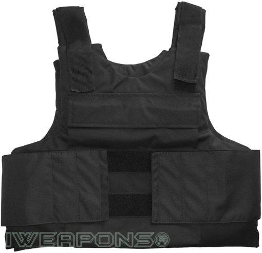 IWEAPONS® IDF External Bulletproof Vest – Black