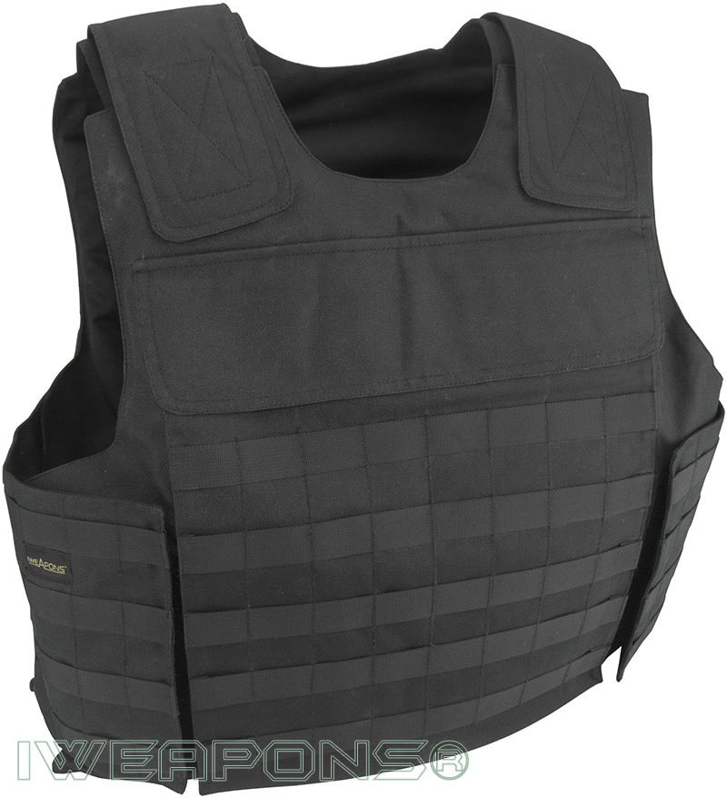 IWEAPONS® MOLLE External Bulletproof Vest IIIA / 3A with ...