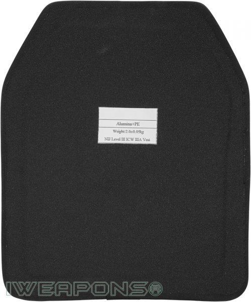 IWEAPONS® SAPI Alumina and PE Armor Plate III / 3