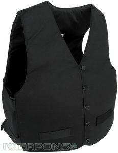 IWEAPONS® VIP Waistcoat Undercover Bulletproof Vest - Black
