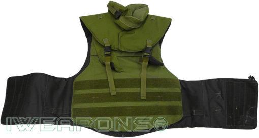 IWEAPONS® Zahal Full Body Armor IIIA Bulletproof Vest