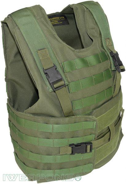 IWEAPONS® Zahal Hashmonai with MOLLE Level III Bulletproof Vest