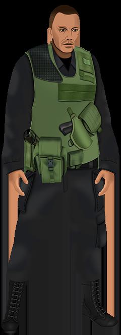 Soldier Combat Bulletproof Vest