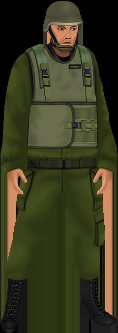 Soldier Hashmonai Bulletproof Vest - 240