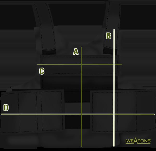 Size Chart Bulletproof Vest