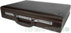 IWEAPONS® Leather Bulletproof Briefcase IIIA