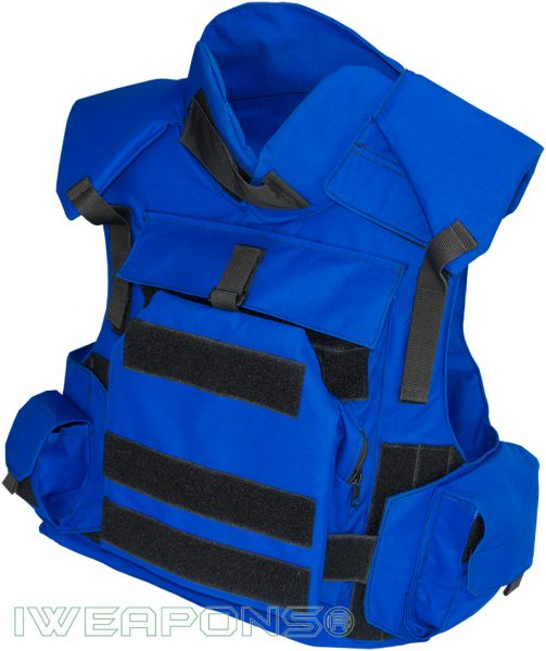 IWEAPONS® TV Media Press Bulletproof Vest