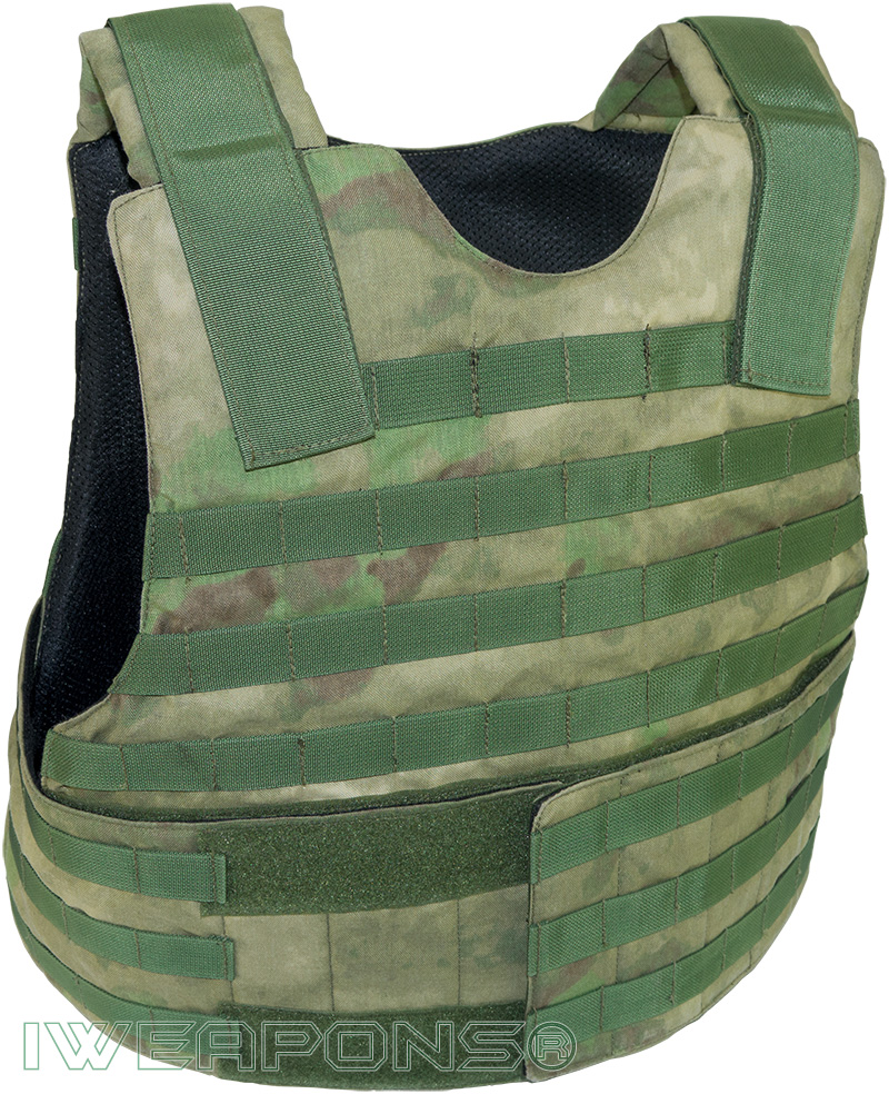 IWEAPONS® Viper Forest MOLLE Bulletproof Vest