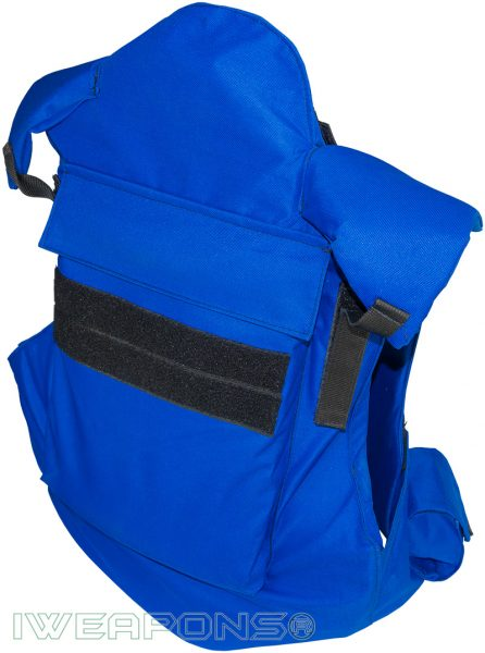 IWEAPONS® TV Media Press Bulletproof Vest
