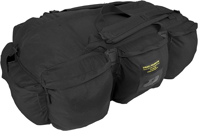 IWEAPONS® IDF Infantry Tactical Duffle Bag - Black