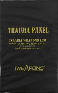 "IWEAPONS® Anti-Trauma 5x8"" Panel for Bulletproof Vest"