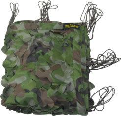 IWEAPONS® Woodland Camouflage Mesh Netting - 10x5ft