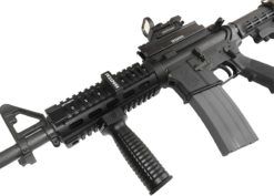 AR15 M4 M16 with IWEAPONS® Gun Accessories and Red Dot