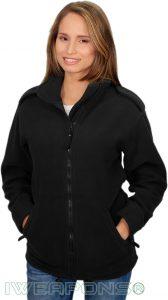 IWEAPONS® Fleece Jacket - Black