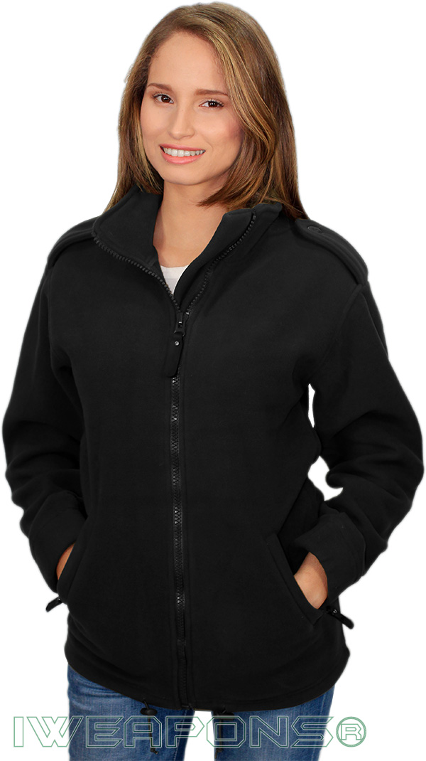 IWEAPONS® Fleece Jacket - Black