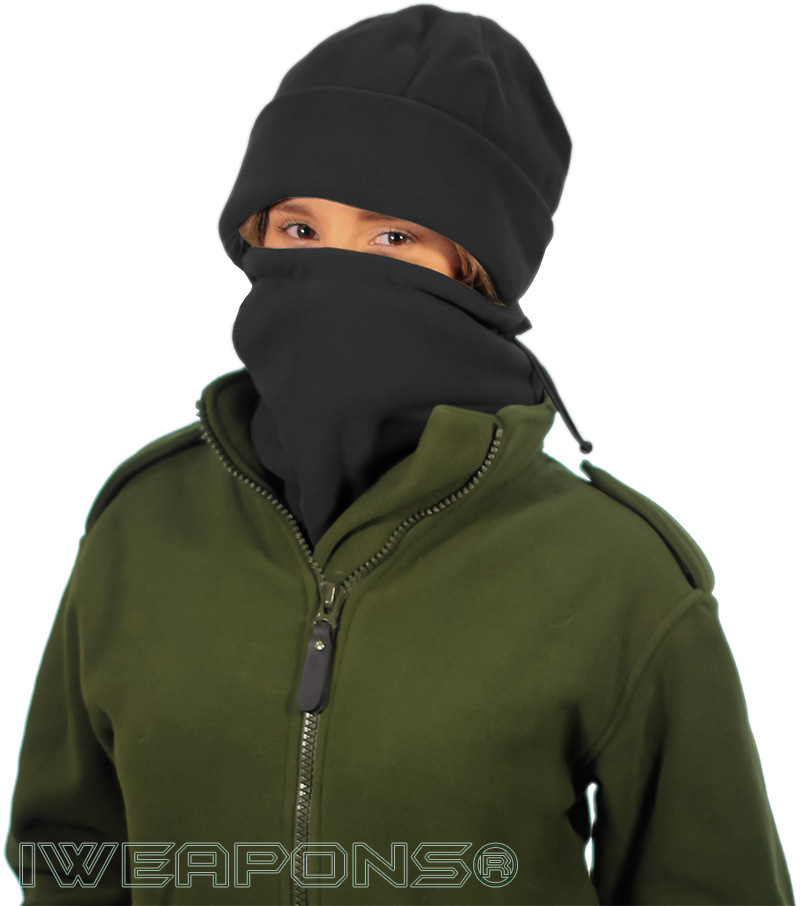 IWEAPONS® Fleece Neck Warmer - Black