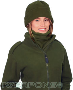 IWEAPONS® Fleece Watch Cap - Green