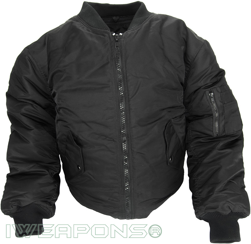 IWEAPONS® IAF Flight Jacket Coat - Black