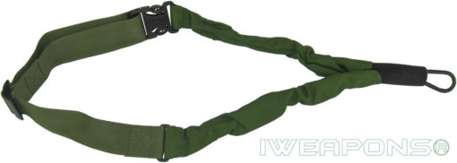 IWEAPONS® IDF 1-Point Bungee Rifle Sling Quick Release Gun Sling - Green