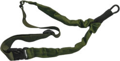IWEAPONS® IDF 1-Point Bungee Rifle Sling for AR15/M16/M4 – Green