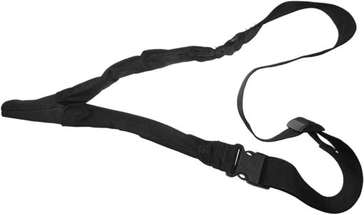 IWEAPONS® IDF 1-Point Bungee Rifle Sling for Combat Gear – Black