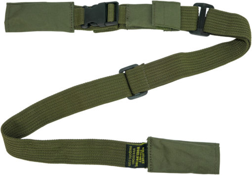 IWEAPONS® IDF 2-Point Rifle Sling Ranger Gun Sling - Green