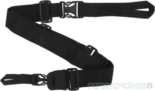 IWEAPONS® IDF 3-Point Rifle Sling Quick Release Gun Sling - Black