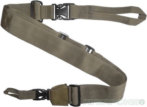 IWEAPONS® IDF 3-Point Rifle Sling Quick Release Gun Sling - Tan
