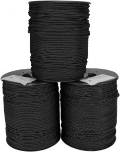IWEAPONS® IDF Polyester Braided Rope 4.5mm Nylon Cord